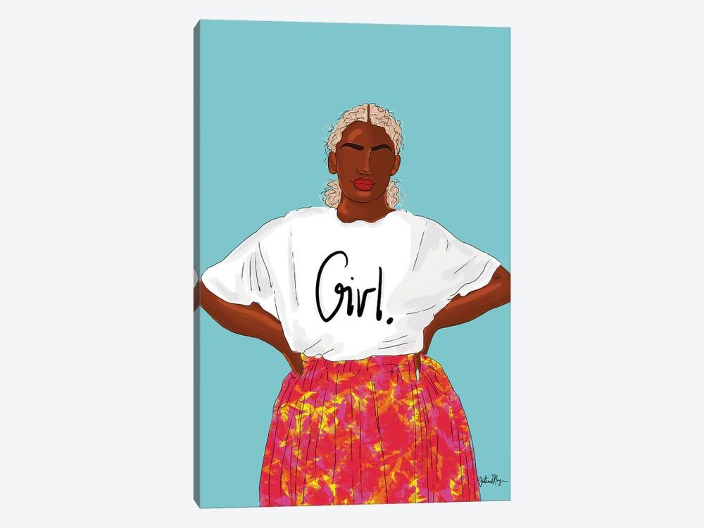 Girl, Just Keep Blooming by Winnie Weston 1-piece Canvas Art