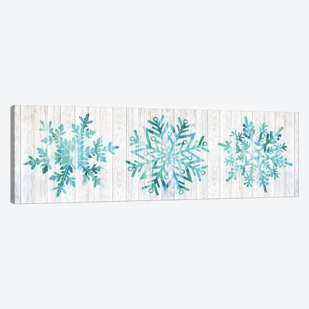 A Winter Blizzard Canvas Print #WWW1} by 5by5collective Canvas Wall Art