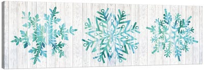 A Winter Blizzard Canvas Art Print