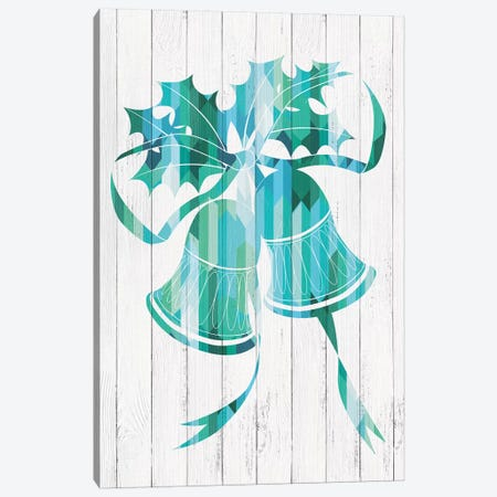 Bells Of Winter Canvas Print #WWW2} by 5by5collective Canvas Art