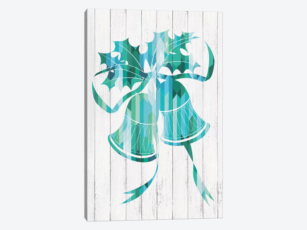 Bells Of Winter by 5by5collective 1-piece Canvas Wall Art