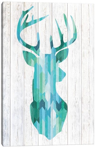 Blue Buck Canvas Art Print