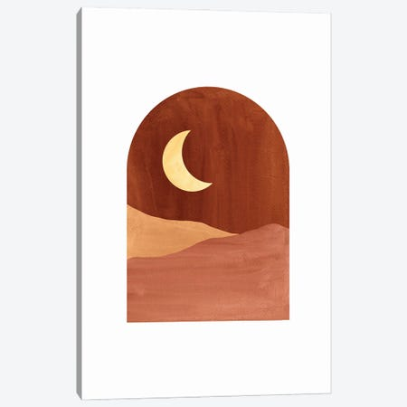Terracotta Night Canvas Print #WWY110} by Whales Way Art Print