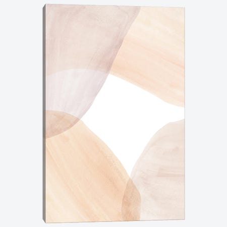 Soft Pastel Tone Abstract Shapes Ii Canvas Print #WWY127} by Whales Way Canvas Art Print