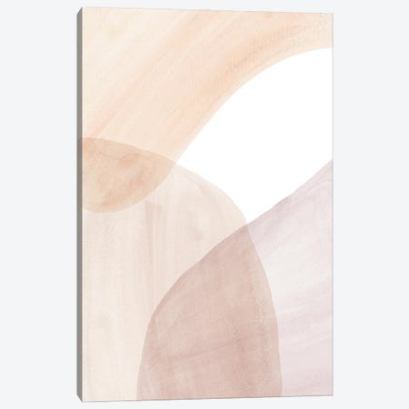 Abstract Soft Colors Art Canvas Print #WWY130} by Whales Way Art Print