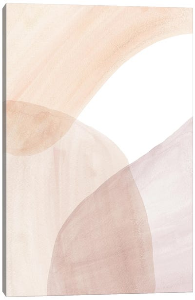 Abstract Soft Colors Art Canvas Art Print