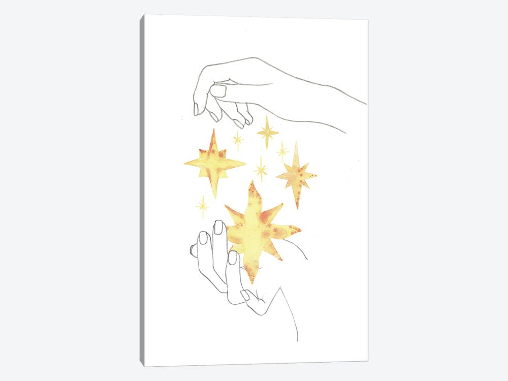 Stars In The Hands by Whales Way 1-piece Canvas Artwork