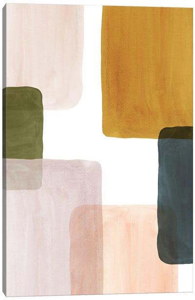 Color Blocks Art I Canvas Art Print