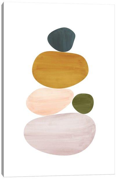 Abstract Stones Canvas Art Print