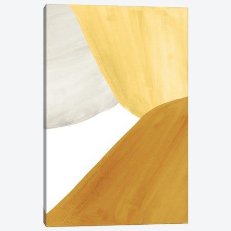 Yellow Tone Art Canvas Print #WWY184} by Whales Way Art Print