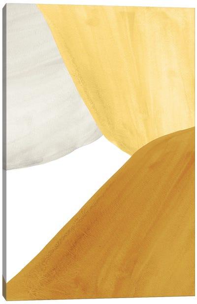 Yellow Tone Art Canvas Art Print