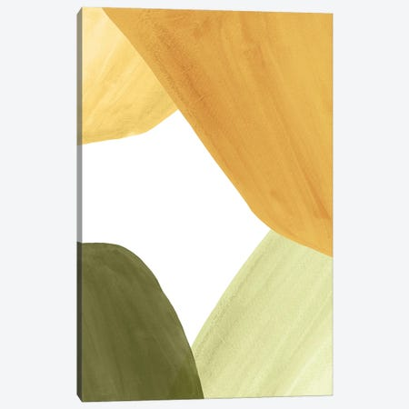 Abstract Organic Shapes, Autumn Colors I Canvas Print #WWY185} by Whales Way Art Print
