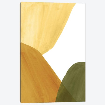 Abstract Organic Shapes, Autumn Colors II Canvas Print #WWY186} by Whales Way Canvas Print