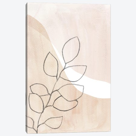Neutral Plant Canvas Print #WWY190} by Whales Way Art Print