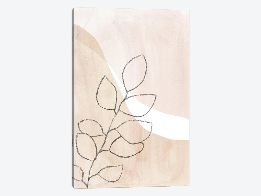Neutral Plant by Whales Way 1-piece Art Print