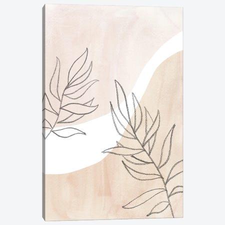 Neutral Plants II Canvas Print #WWY191} by Whales Way Canvas Art Print