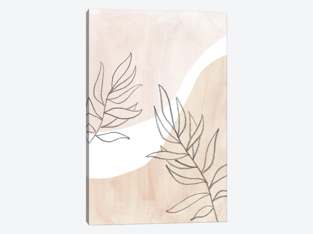 Neutral Plants II by Whales Way 1-piece Canvas Art