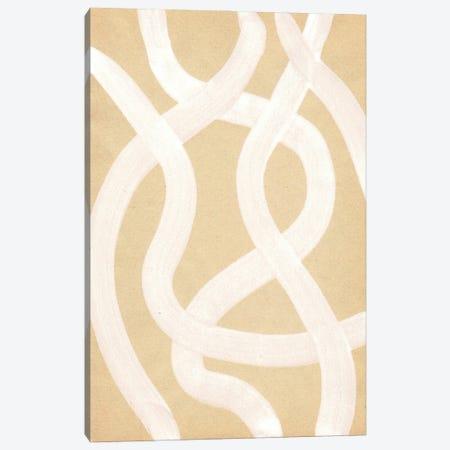 Neutral Stripes Canvas Print #WWY198} by Whales Way Canvas Print
