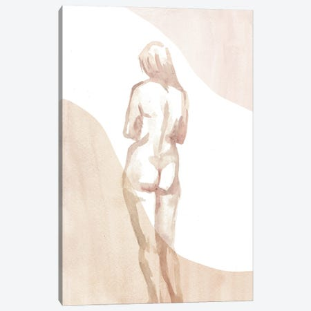 Nude Woman I Canvas Print #WWY200} by Whales Way Canvas Art Print
