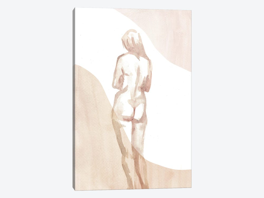Nude Woman I by Whales Way 1-piece Canvas Artwork