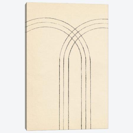 Minimalist Neutral Line Art I Canvas Print #WWY236} by Whales Way Canvas Print