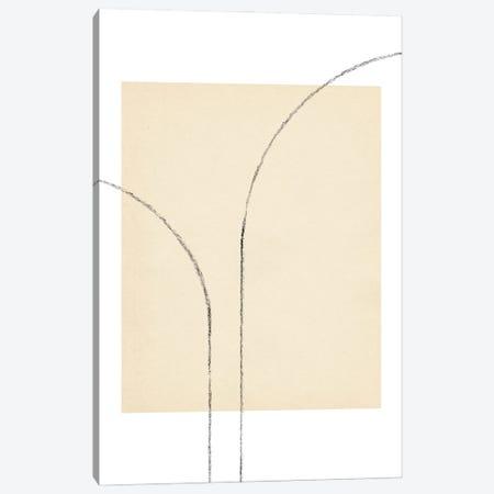 Minimalist Neutral Line Art III Canvas Print #WWY238} by Whales Way Canvas Artwork