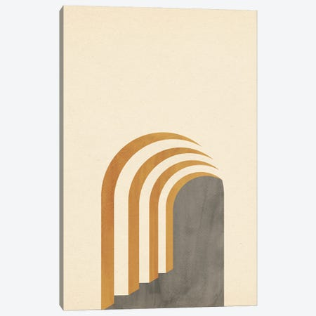 Abstract Architecture Canvas Print #WWY251} by Whales Way Canvas Art