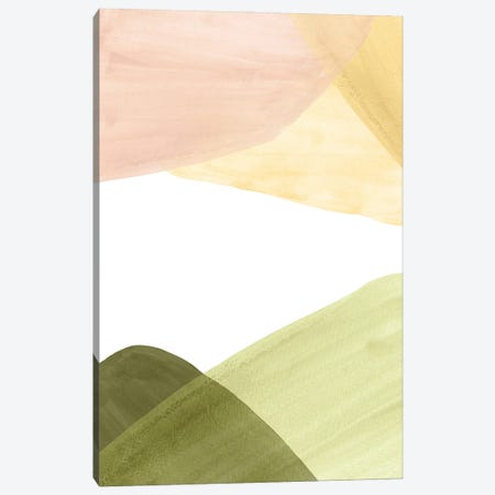 Abstract Landscape In Pastel Tones Canvas Print #WWY266} by Whales Way Canvas Art