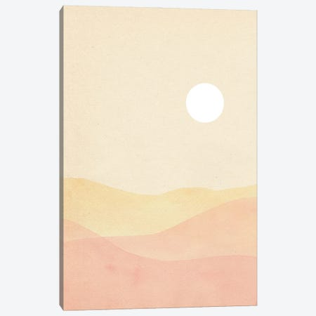 Soft Pastel Landscape Canvas Print #WWY282} by Whales Way Canvas Print