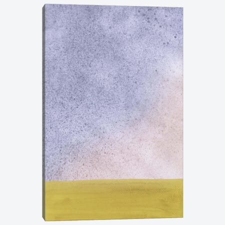 Abstract Cloudy Landscape Canvas Print #WWY301} by Whales Way Canvas Art