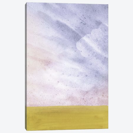 Abstract Cloudy Landscape II Canvas Print #WWY302} by Whales Way Canvas Art