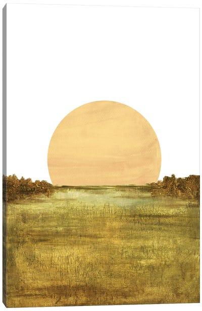Minimalist Landscape Canvas Art Print