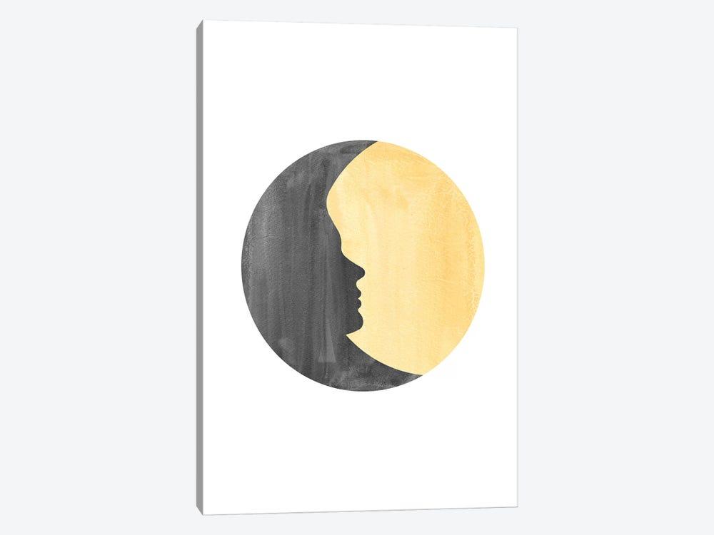 Woman Moon II by Whales Way 1-piece Art Print