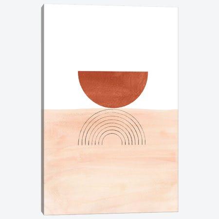 Geometric Horizon Canvas Print #WWY52} by Whales Way Canvas Art Print