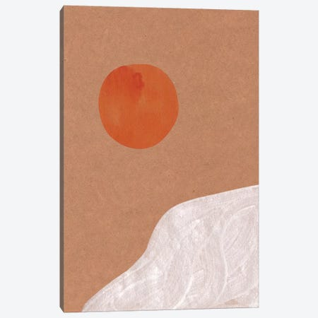 Abstract Sun Canvas Print #WWY5} by Whales Way Canvas Print