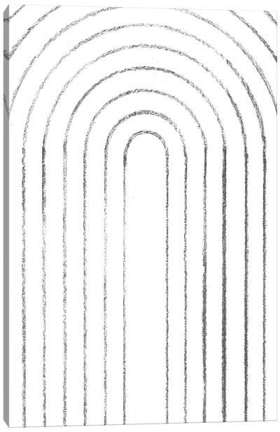 Line Arches Canvas Art Print