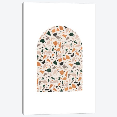 Terrazzo Marble Art Canvas Print #WWY73} by Whales Way Canvas Art Print