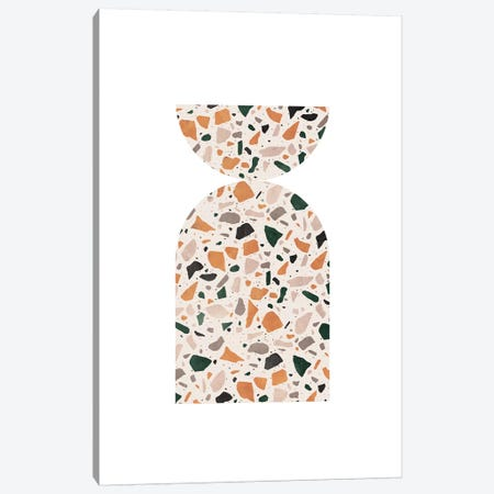 Abstract Terrazzo Canvas Print #WWY74} by Whales Way Canvas Artwork