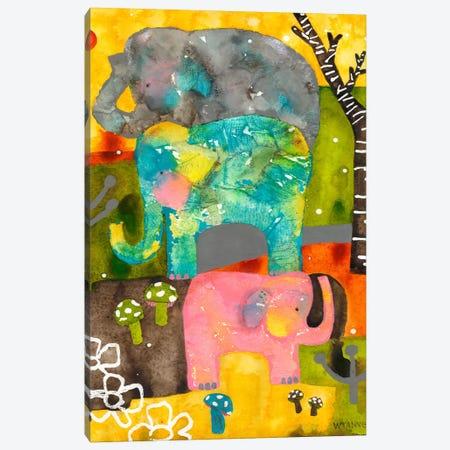 Go Your Own Way Canvas Print #WYA20} by Wyanne Canvas Print