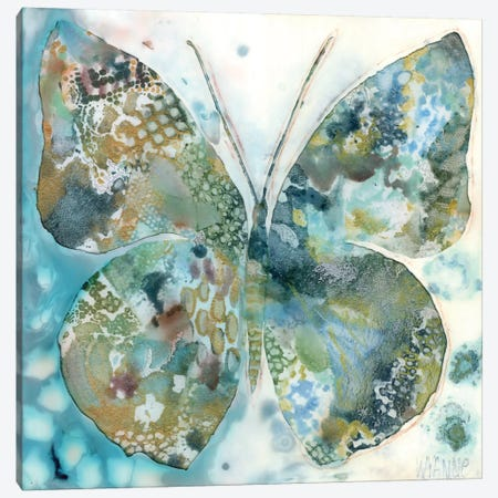 Lucky Moth I Canvas Print #WYA24} by Wyanne Canvas Artwork