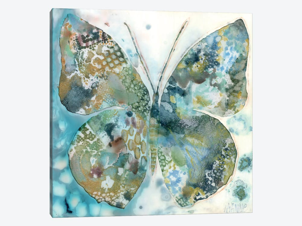 Lucky Moth I by Wyanne 1-piece Canvas Artwork