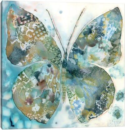 Lucky Moth I Canvas Art Print