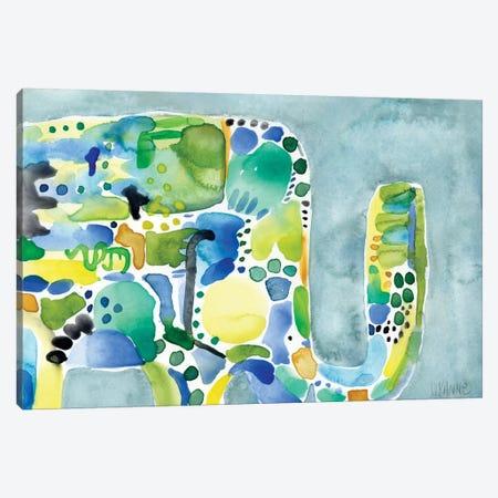 Rainy Day Ellie Canvas Print #WYA30} by Wyanne Canvas Wall Art