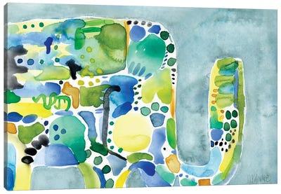 Rainy Day Ellie Canvas Art Print