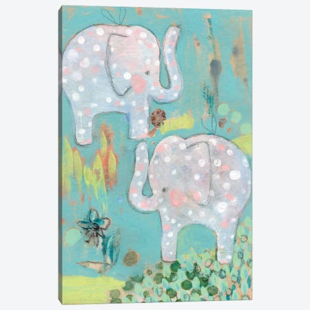 Take Two Canvas Print #WYA34} by Wyanne Art Print