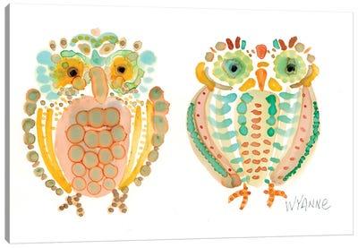 Wise Owls Canvas Print #WYA37