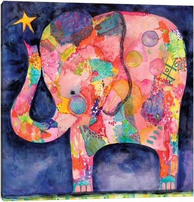 All Within Reach Elephant Canvas Art Print