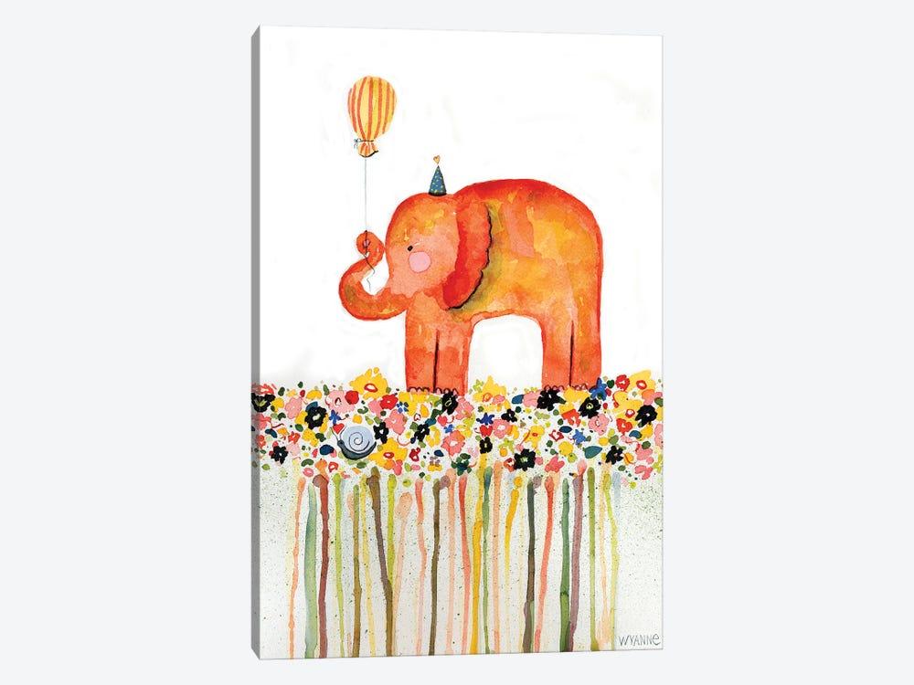Big Day Elephant by Wyanne 1-piece Canvas Art Print