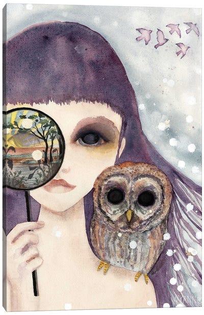 Big Eyed Girl See Canvas Art Print