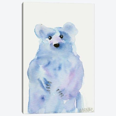 Blue Bear Canvas Print #WYA53} by Wyanne Canvas Wall Art